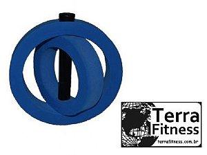 Halter Globo Eva hidroginástica 1kg a 3kg - Terra Fitness