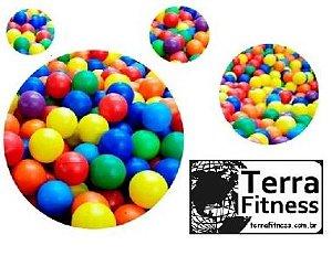 Kit Bolinhas plásticas. Com 50 bolas - Terra Fitness