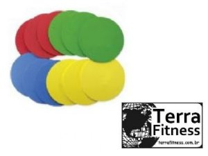 """Marcador de treinamento em eva """" Disc """" - Terra Fitness"""