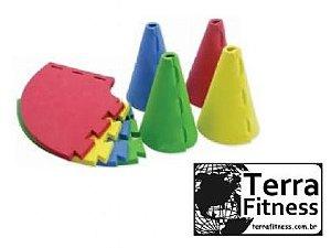 """Marcador de treinamento em eva """" Full Cone"""" - Terra Fitness"""