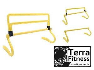 Mini barreira ajustável 3 níveis - Terra Fitness
