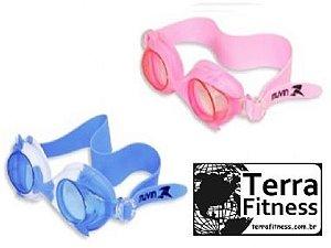 Óculos natação infantil prot uv antiembaçante -Terra Fitness