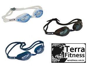 Óculos natação proteção uv antiembaçante T1 - Terra Fitness