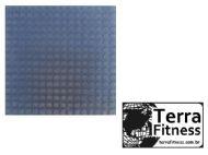 Piso Vinílico tipo moeda antiderrapante - Terra Fitness