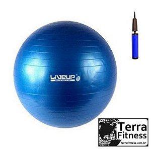Bola Suiça Fitball 65cm AZUL anti-burst - Terra Fitness