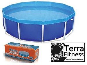Piscina circular 4500 Litros - Ø2,83cm X 77cm - Terra Fitness