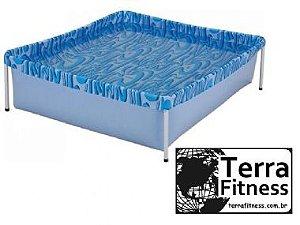 Piscina infantil 400 Litros - 115cm X 106cm X 33cm - Terra Fitness