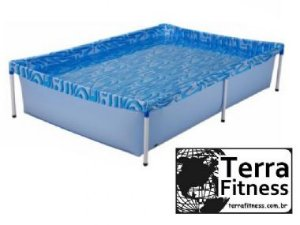 Piscina 1000 Litros Retangular - 189cm X 126cm X 42cm - Terra Fitness