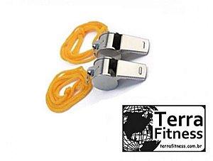 Apito metal 2 unidades-Terra Fitness