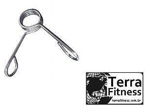 """Presilha para barra de musculação 1.1/8"""" = 28mm - Terra Fitness"""