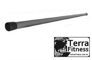 Bastão hidroginástica 100cmX28mm em pvc + ponteiras - Terra Fitness
