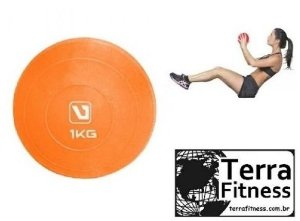Bola tonificadora Soft Ball 1kg - Terra Fitness