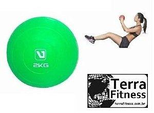 Bola tonificadora Soft Ball 2kg - Terra Fitness