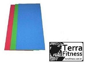 Colchonete 100cmx50cmx2cm em borracha eva - Terra Fitness