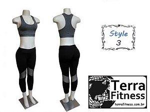 Conjunto Leg - Style 3 - Terra Fitness.