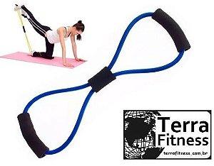 """Extensor elástico """"8"""" Forte- Terra Fitness"""