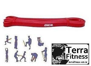 Faixa Super Band Leve latex vermelho - Terra Fitness