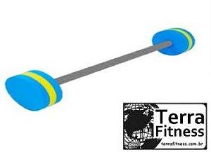 Halter barra hidroginástica 1kg a 2kg   -Terra Fitness