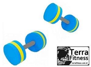 Halter hidroginástica Circular de esforço 3kg a 4kg - Par - Terra Fitness