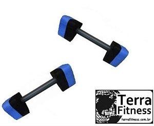 Halter hidroginástica Triangular de esforço 1kg a 2kg - Par - Terra Fitness