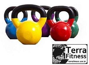 Kettlebell emborrachado 10kg - Terra Fitness