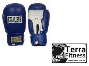 """Luva de boxe """"14oz""""  Azul - Terra Fitness"""
