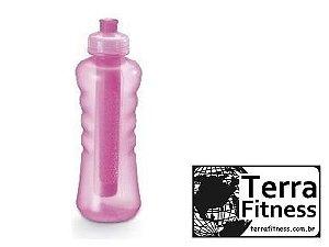 Squeeze com tubo de gelo 580ml - Terra Fitness