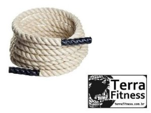 Corda Naval Sisal com pegada ... 6mX36mmØ - Terra Fitness