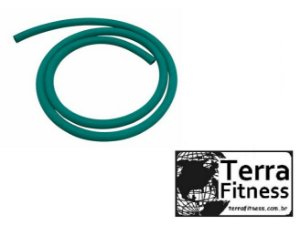 Elástico em tubo latex 150cm - Médio - Terra Fitness