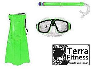Kit Mergulho Juvenil - Vd - Terra Fitness