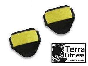 Luva Palmar Musculação em Eva com 2 Ajustes / Par - Am - Terra Fitness