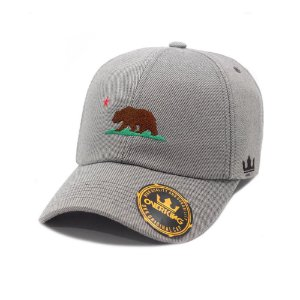 BONÉ OVERKING ABA CURVA DAD HAT STRAPBACK CALIFA BEAR