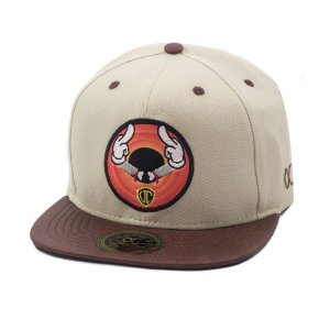 Boné Other Culture Bad Rabbit Snapback Aba Reta Bege