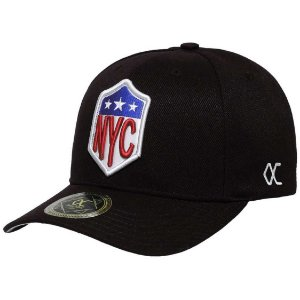 Boné Other Culture Nyc Snapback Aba Curva Preto