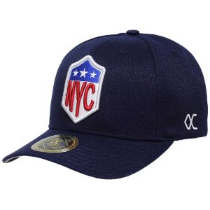 Boné Other Culture Nyc Snapback Aba Curva Azul