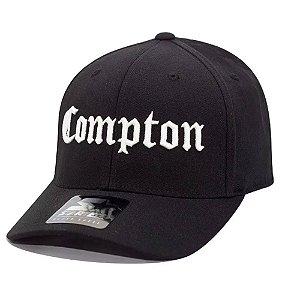Boné Starter Aba Curva Flexfit One Ten Compton Preto