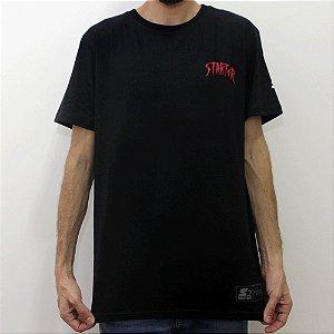 Camiseta Starter Shark preto