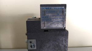 Molde de Grafite para conexões Cadweld TAC-Y1Y1 para cabos 25 mm² - Exotérmico - Aterramento