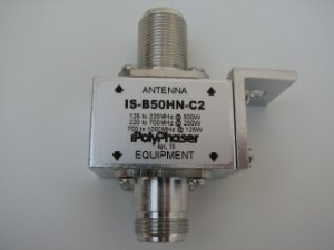 Protetor contra surto Coaxial Polyphaser - Nff bulkhead 125/1000MHz(500/125W)