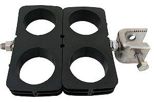 Abraçadeira Mini-Hanger c/ adaptador p/ cabo 1 5/8''