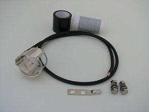 """Kit de Aterramento Clip-on p/ cabo alumínio de 1 5/8"""""""