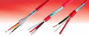 Cabo ALARMFIRE  2x1,5 mm² Cu CL2 PVC/EB 300V BC PVC ST1  NBR17240 vermelho