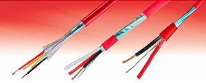 Cabo ALARMFIRE  2x1,5 mm² Cu CL2 PVC/EB 600V BC PVC ST1  NBR17240 vermelho