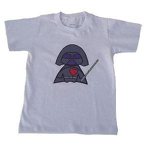 Camiseta Manga Curta em Malha Branca Bbmoderno