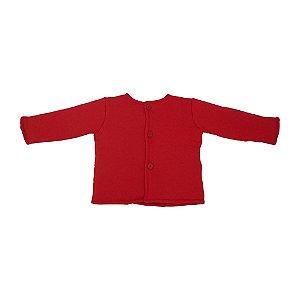 Casaco Fofão Vermelho Infantil para Bbmoderno