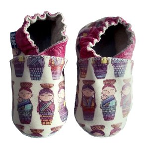 Sapato Babo Uabo Bonecas para Bebê