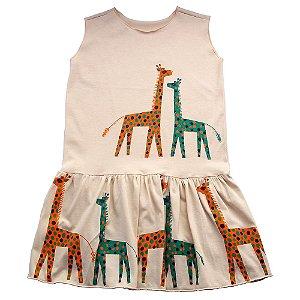 Vestido Cavado Girafa em Malha Bbmoderno