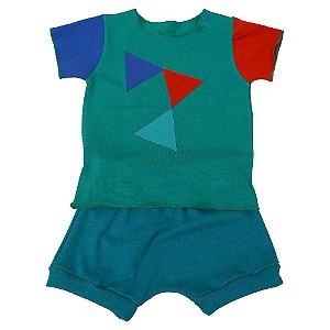 Conjunto Shorts e Camiseta Unissex