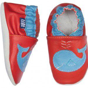 Sapato Babo Uabo Baleia para Bebê