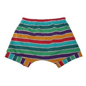 Shorts Listrado para Bebê